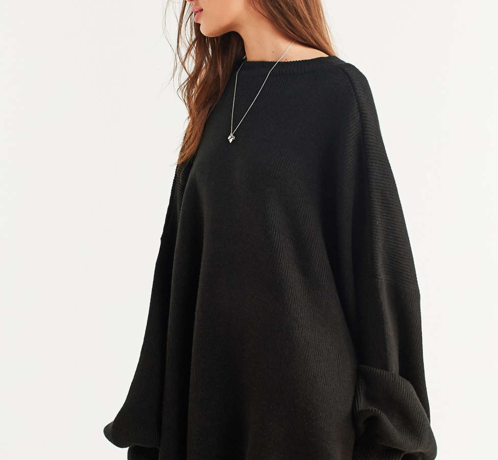 Slide View: 6: Silence + Noise Brooke Tunic Sweater