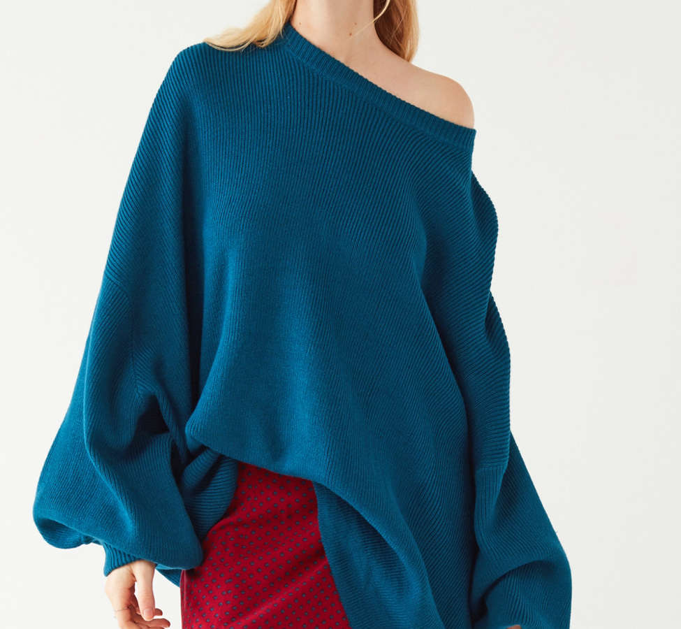 Slide View: 1: Silence + Noise Brooke Tunic Sweater