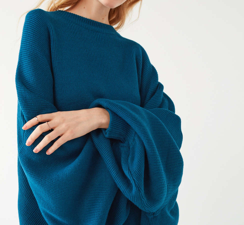 Slide View: 3: Silence + Noise Brooke Tunic Sweater