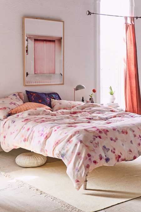 Allover Petals Duvet Cover