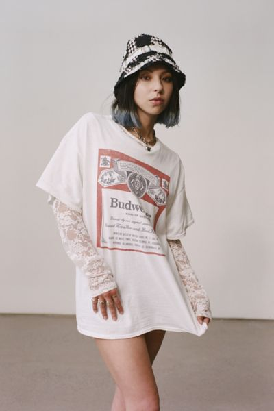 Junk Food Budweiser Classic Tee Urban Outfitters