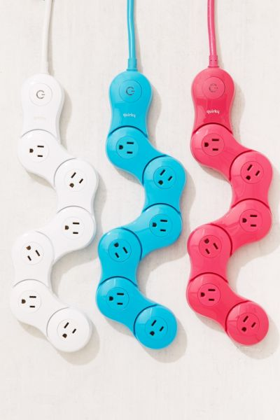 Quirky Pivoting Power Strip