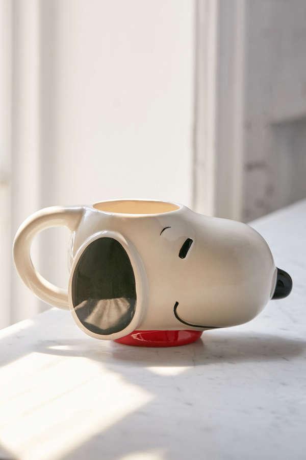 Snoopy Head Mug