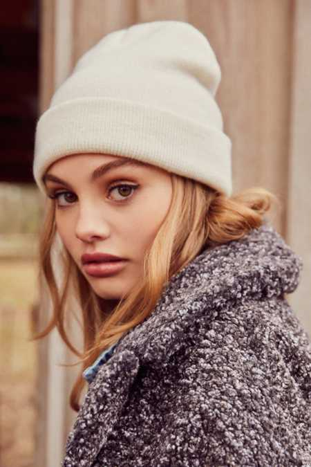 Double Knit Basic Beanie