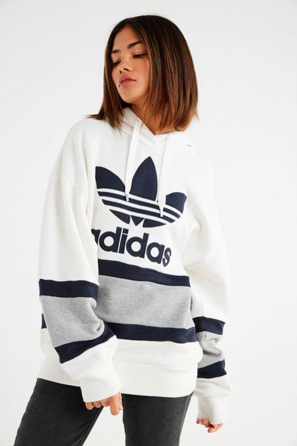 Originals Colorblock Urban Hoodie Adidas Outfitters Sweatshirt Sf0vA