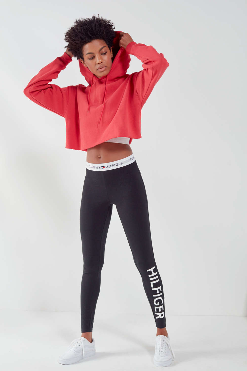 Slide View: 1: Tommy Hilfiger X UO Jersey Legging