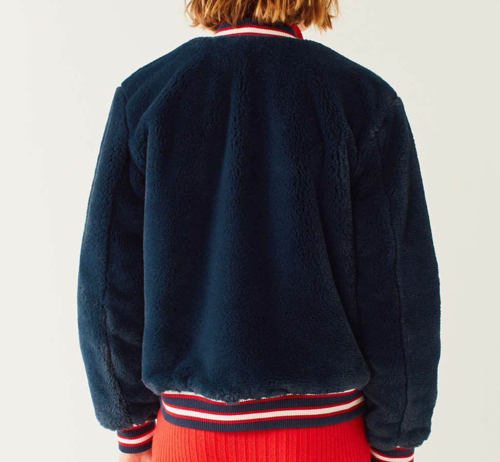 Slide View: 5: Tommy Jeans '90s Reversible Bomber Jacket
