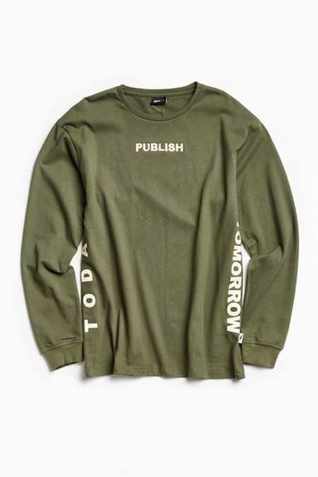 Publish Motto Long Sleeve Tee