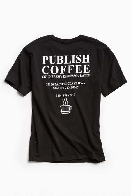Publish Coffee Tee