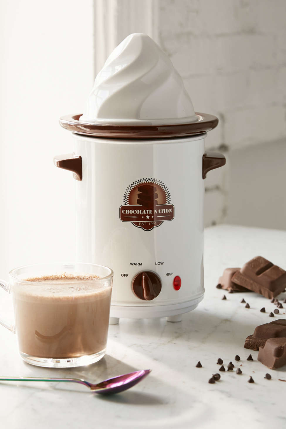 Slide View: 1: Old Fashioned Hot Chocolate Maker