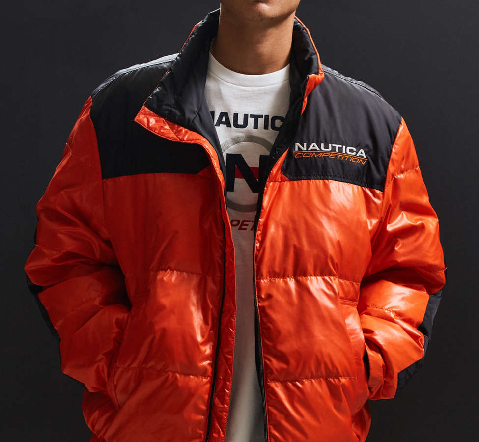Slide View: 2: Blouson matelassé Competition For UO Nautica