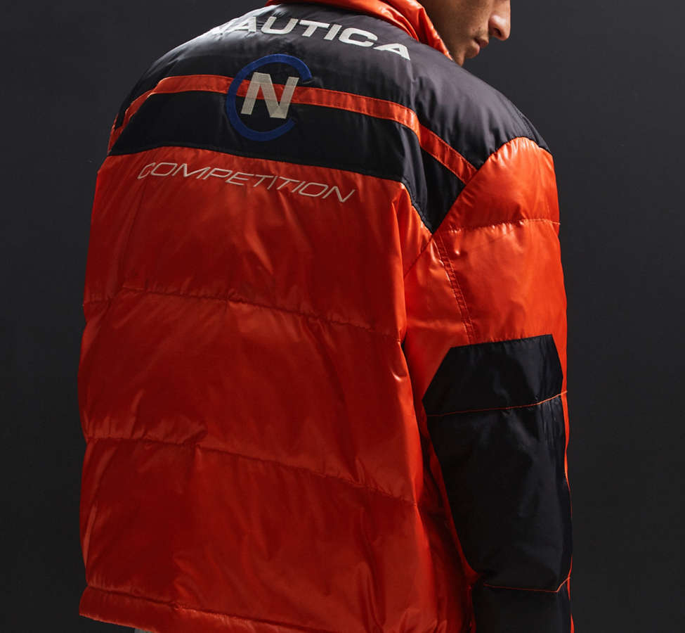 Slide View: 3: Blouson matelassé Competition For UO Nautica