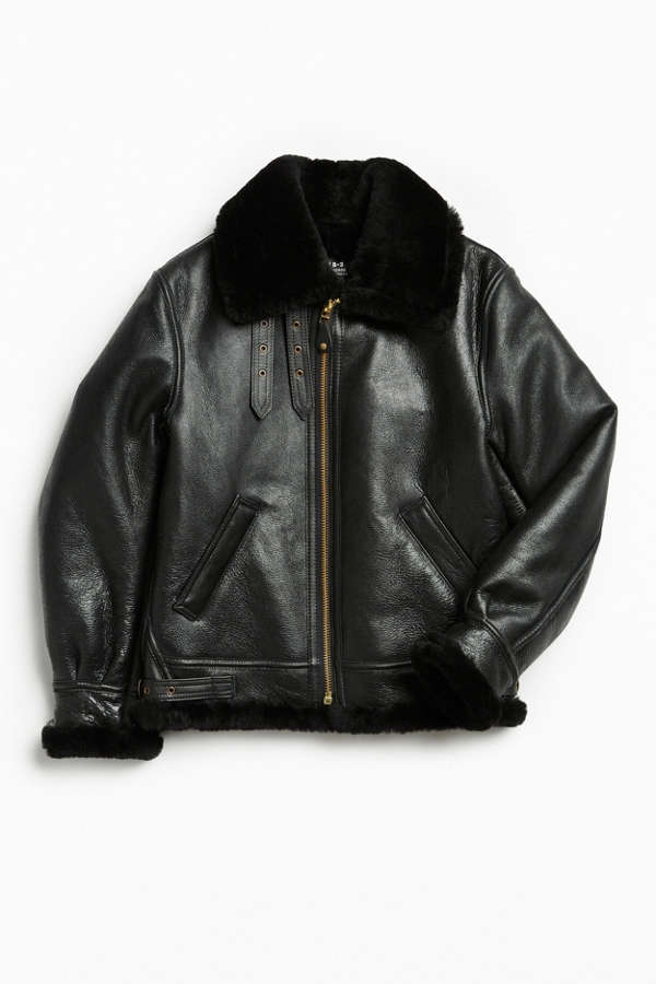 Schott B3 Sheepskin Bomber Jacket | Urban Outfitters Canada