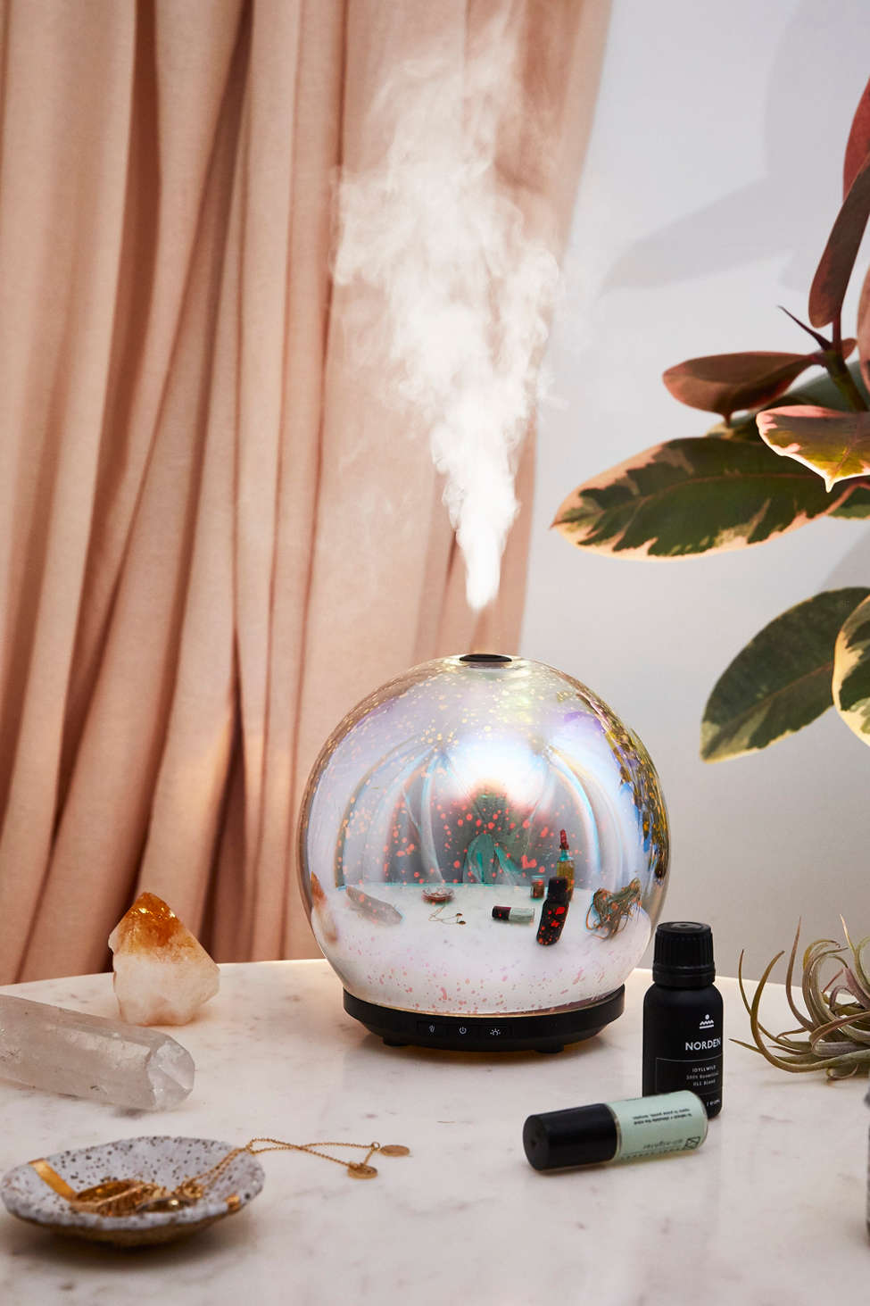 Slide View: 1: 3D LED Gala Essential Oil Diffuser