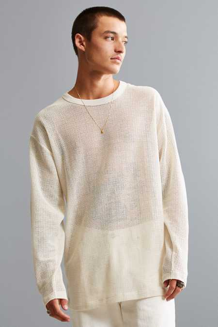 UO Mesh Long Sleeve Tee
