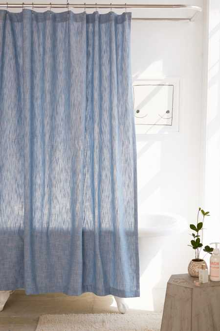 Calypso Chambray Shower Curtain