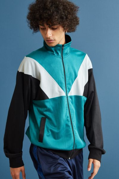 UO Benji Track Jacket - Black S at Urban Outfitters