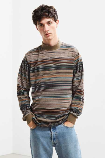 Publish Kole Stripe Long Sleeve Tee