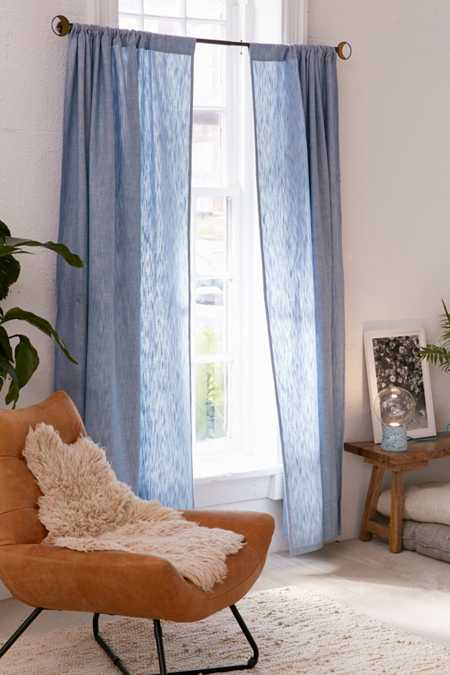 Calypso Chambray Window Curtain