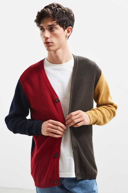 Publish Alexander Colorblock Cardigan Sweater