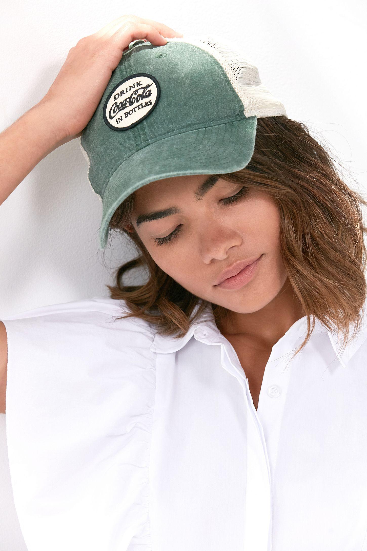 994d4098919 American Needle Coca-Cola Old School Trucker Hat