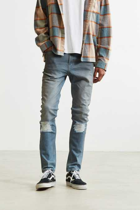 BDG Destructed Flint Wash Skinny Jean