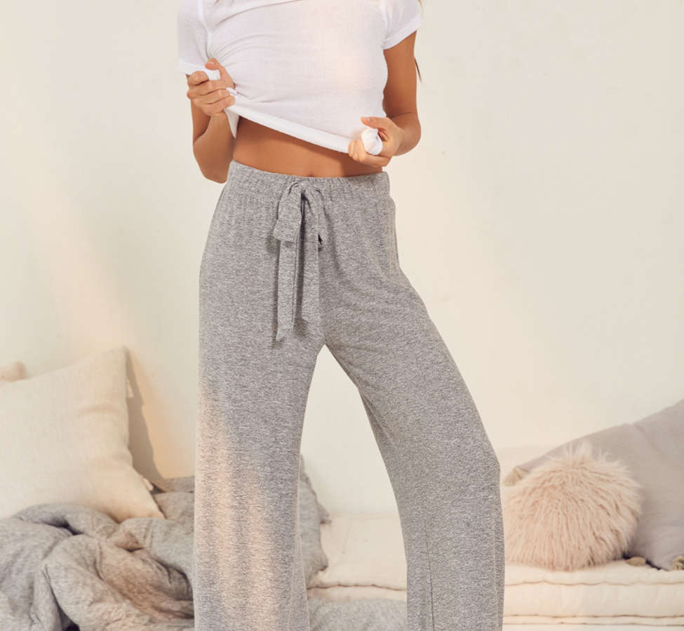 Slide View: 1: Out From Under Mila Wide-Leg Sweatpant
