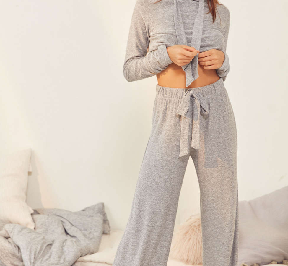 Slide View: 6: Out From Under Mila Wide-Leg Sweatpant