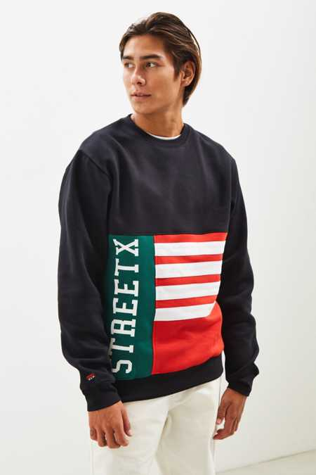 StreetX Flag Crew Neck Sweatshirt