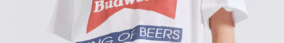 Thumbnail View 1: Junk Food Budweiser King of Beers Tee