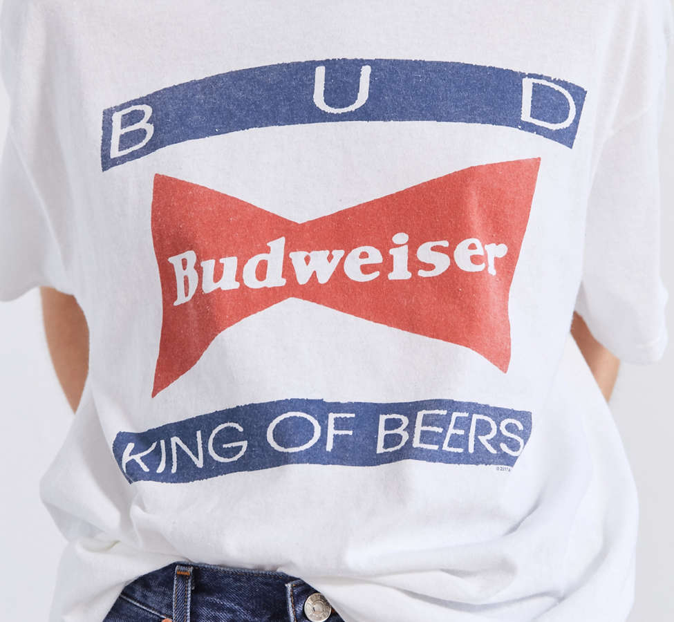 Slide View: 3: Junk Food Budweiser King of Beers Tee