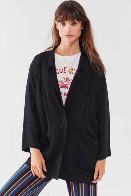 Silence + Noise Relaxed Open Front Blazer