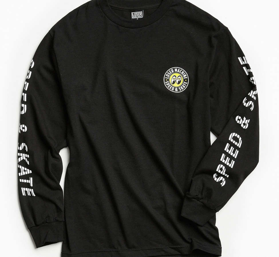 Slide View: 2: Loser Machine X Mooneyes Overdrive Long Sleeve Tee