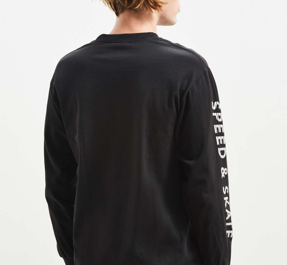 Slide View: 5: Loser Machine X Mooneyes Overdrive Long Sleeve Tee