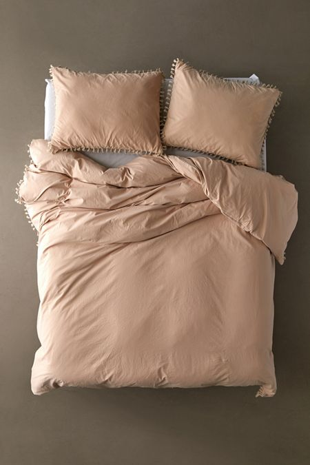 Washed Cotton Tel Duvet Cover