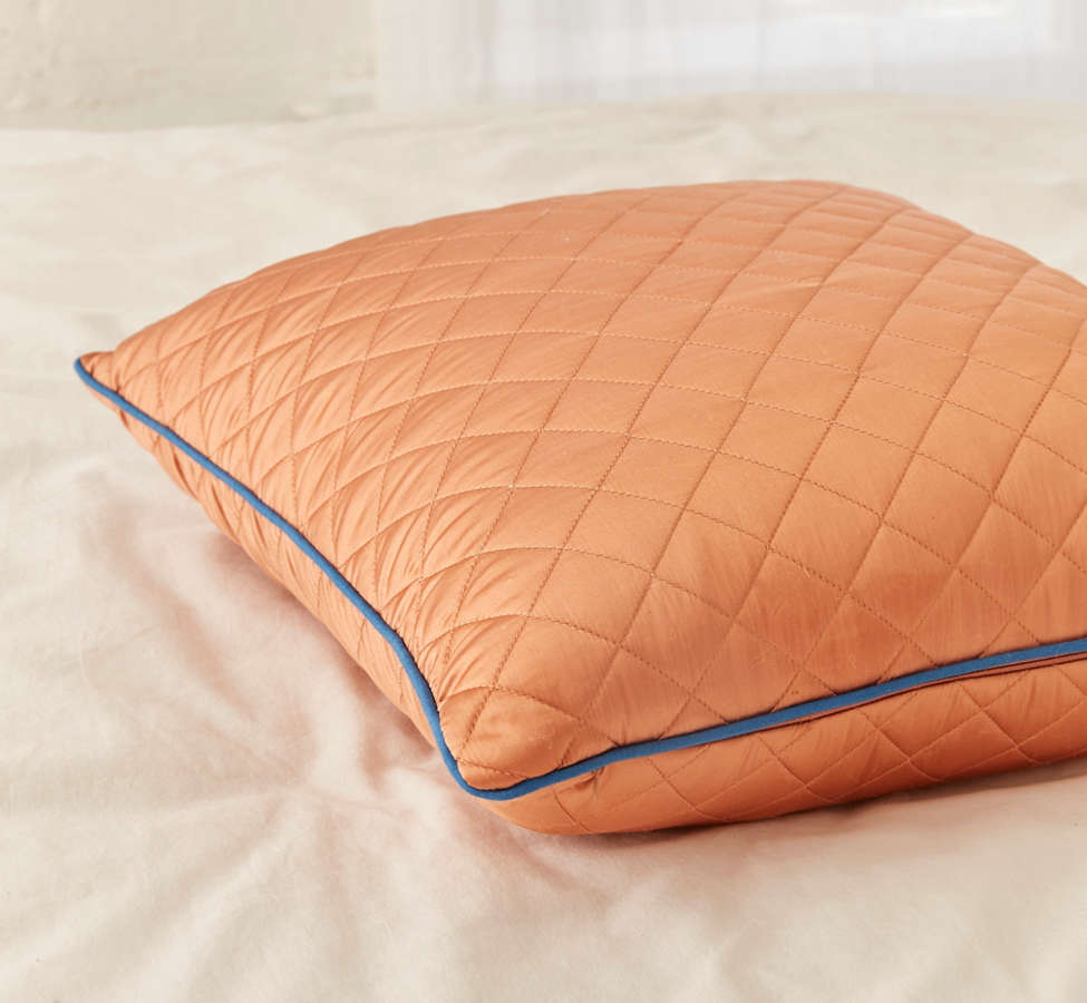Slide View: 3: Satin Quilted Pillow