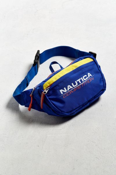 Nautica + UO Competition Sling Bag - Blue One Size at Urban Outfitters