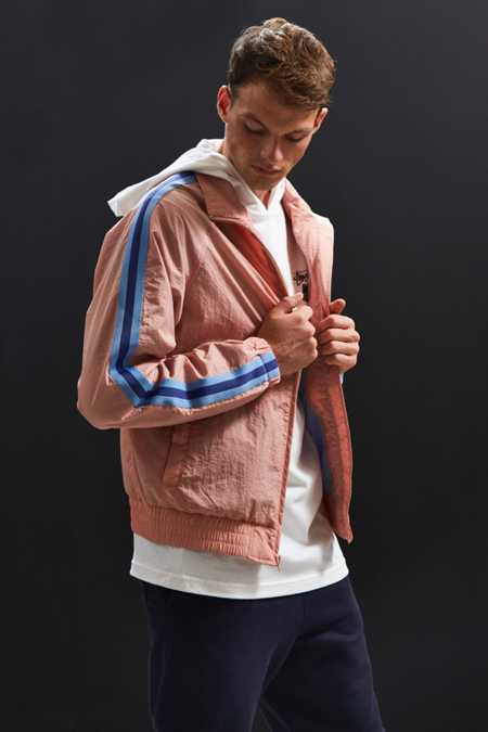 UO Side Stripe Windbreaker Jacket
