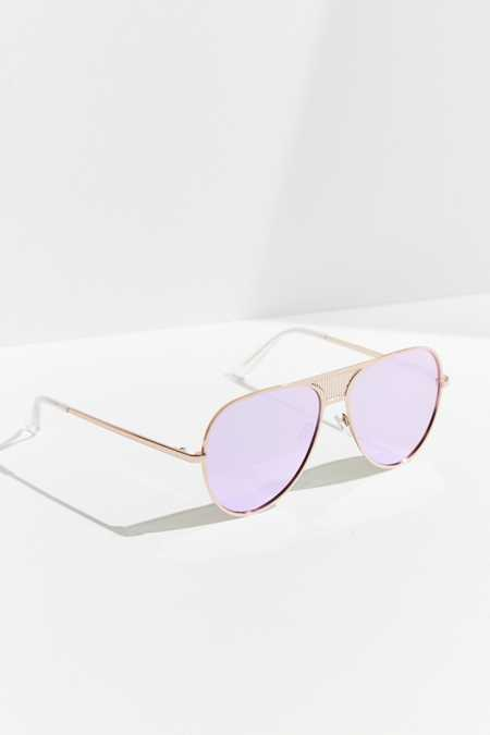 #QUAYxKYLIE Iconic Aviator Sunglasses
