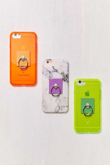 Neon Phone Ring Holder Stand