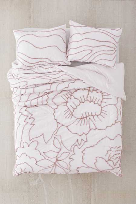 Margot Tufted Floral Comforter