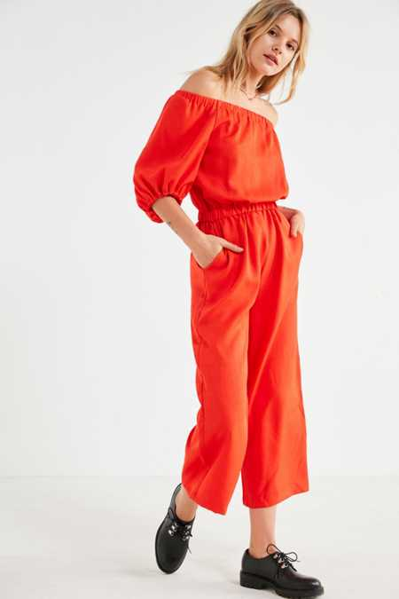 Style Mafia Jazz Off-The-Shoulder Jumpsuit