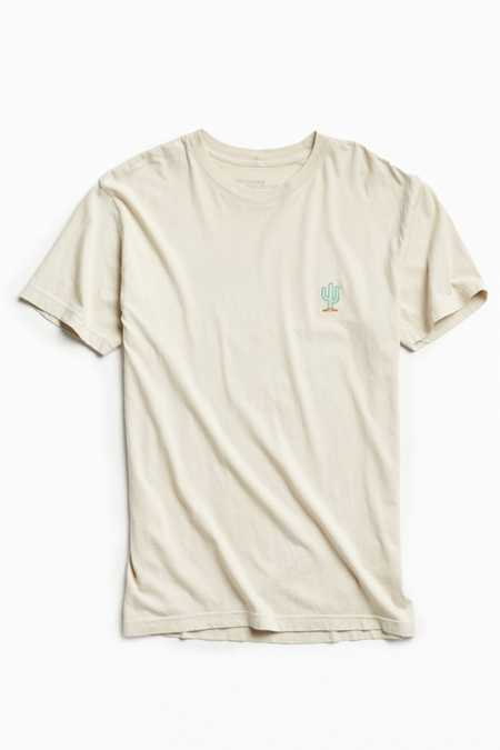 Embroidered Cactus Tee