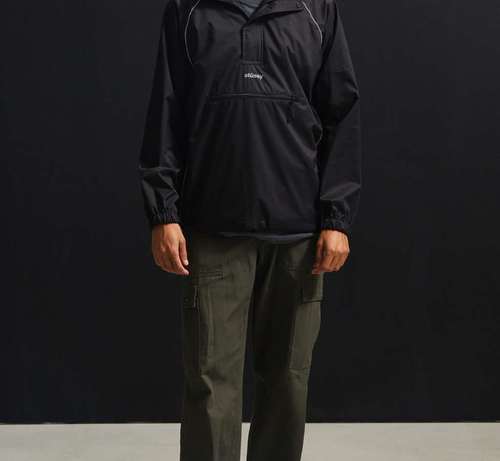 Slide View: 6: Stussy 3M Piping Pullover Windbreaker Jacket