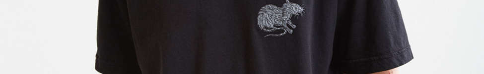 Thumbnail View 2: Embroidered Rat Tee