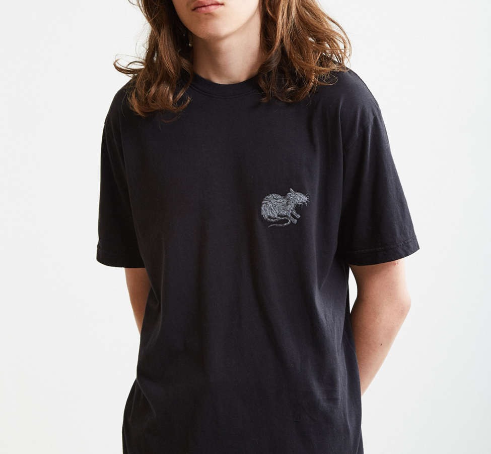 Slide View: 2: Embroidered Rat Tee