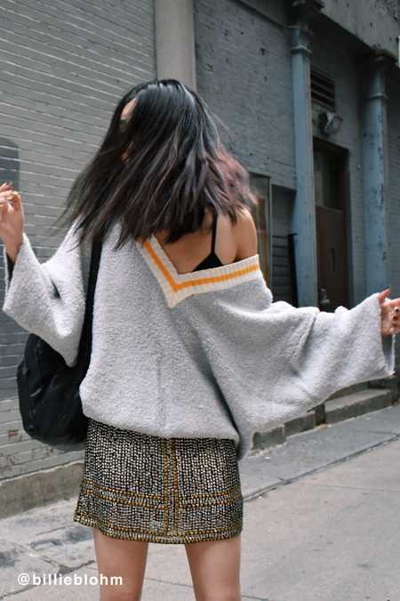 UO Alex Cozy Dolman Sweater
