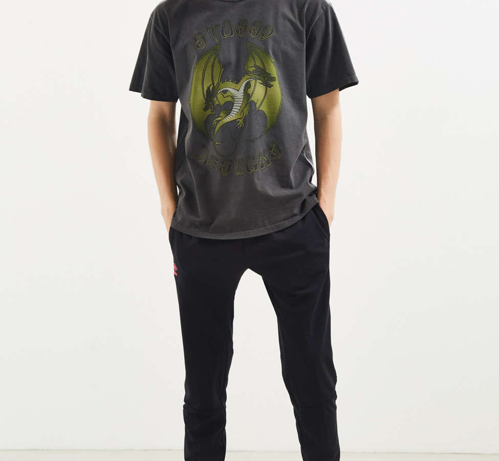 Slide View: 5: Stussy Double Dragon Pigment Dyed Tee