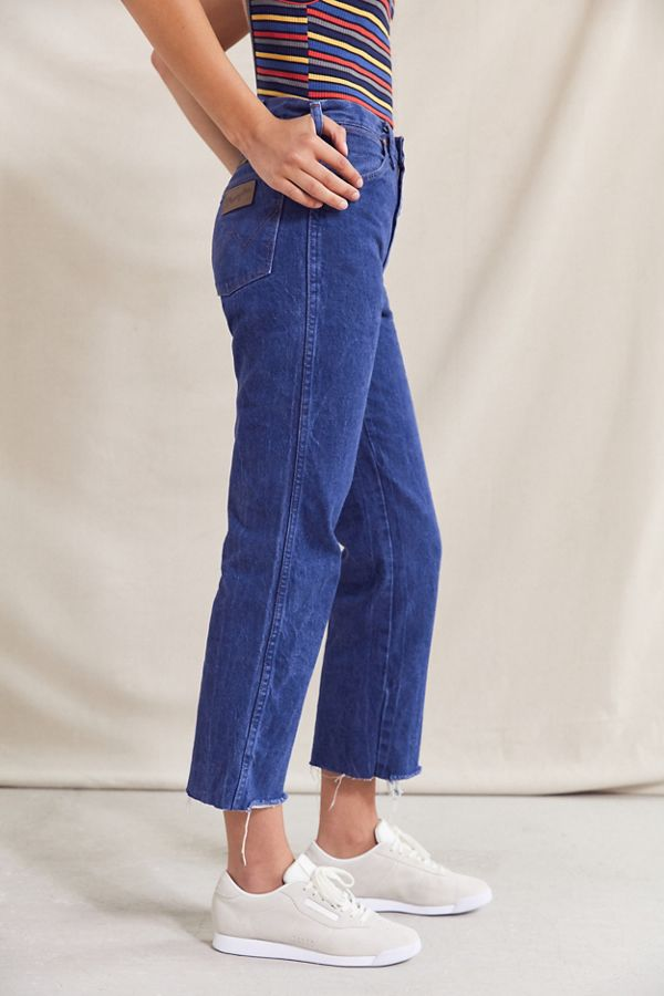 Vintage Wrangler Cropped Jean Urban Outfitters