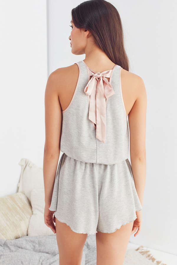 Out From Under Chrissy Tie-Back Romper